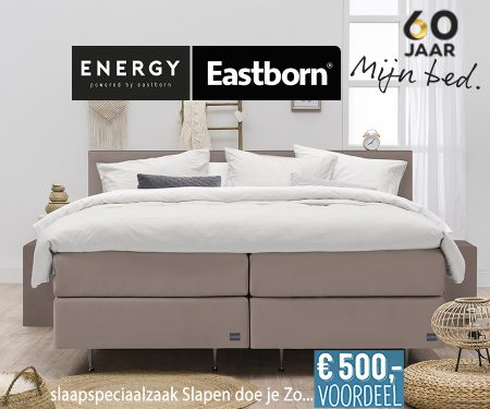 Eastborn ENERGY boxspringcombinatie
