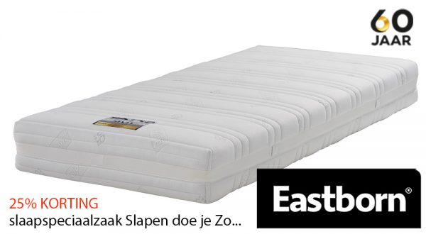 EASTBORN SITY good pocketvering matras met 25% korting