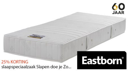 EASTBORN SITY BETTER pocketvering matras met 25% korting